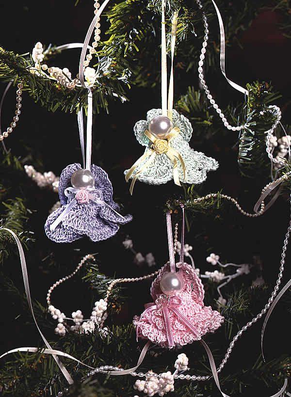 FREE #crochet Angel Bells design, courtesy of Crochet Connection, the Crochet World magazine blog. Download now: http://www.crochet-world.com/blog/?p=8474