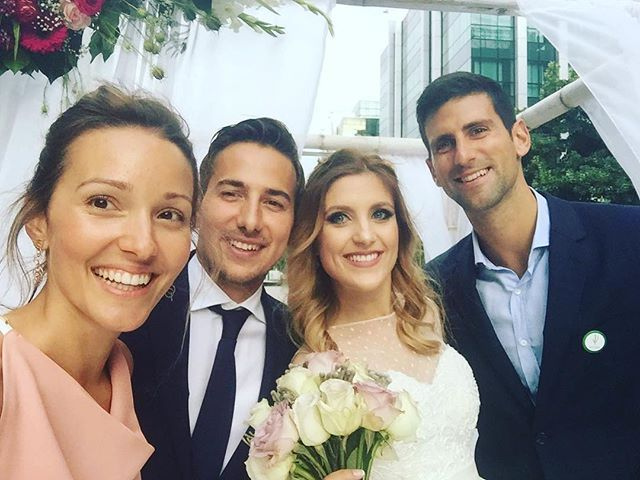 djokernole . Congtatulations my friends! So happy for you!