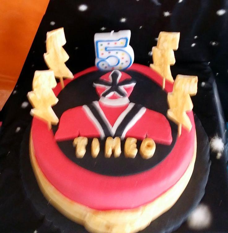 power ranger cake party anniversaire Nali                                                                                                                                                     Plus