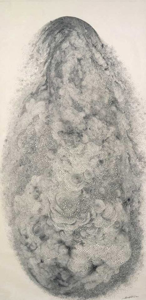 """""""Hiroyuki Doi was born in Nagoya, Japan in 1946. He is self-taught, and proud of his individualism and status as a putative 'outlaw' in the urban scene. He began his career in 1980, after the death of his younger brother. This life-changing trauma redirected his energies to the creation of visual art, soon eclipsing his training as a chef."""""""