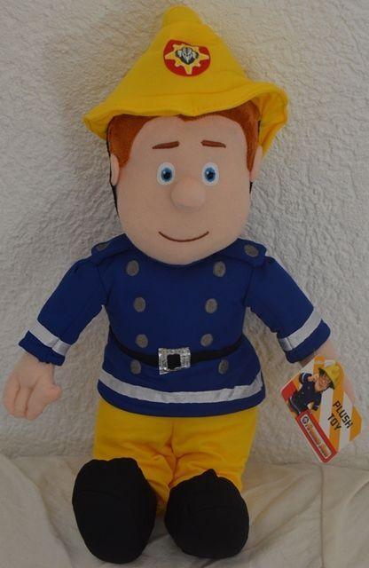 Feuerwehrmann  SAM Fireman Sam   Plüschfigur Puppe  Plüsch Plush  43 cm    NEU   in Spielzeug, Stofftiere, Film & Fernsehen | eBay!