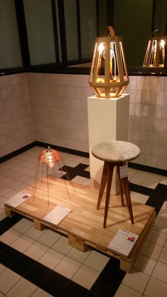 Lamp Zuid, Copper en Object Trouvé nog 3 dagen te zien bij Usine in Eindhoven!