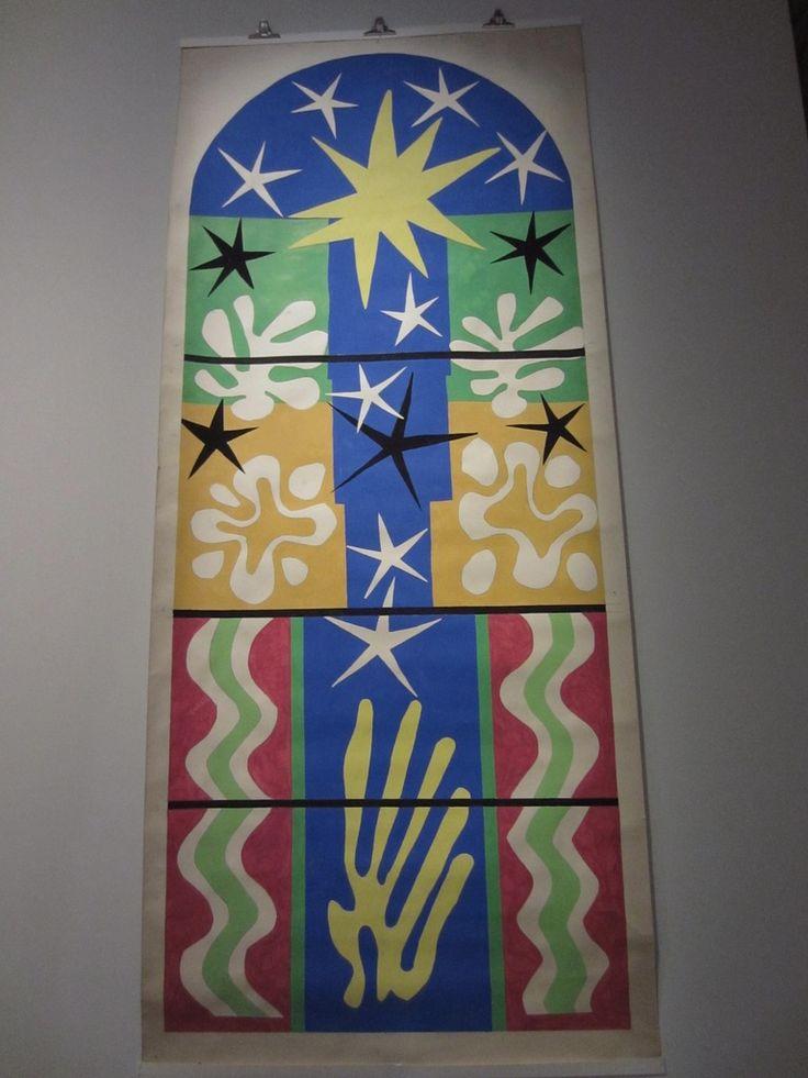 Henri Matisse- Atelier Bony- Nuit de Noël-1952- Immeuble du Life au Rockefeller Centre- New York