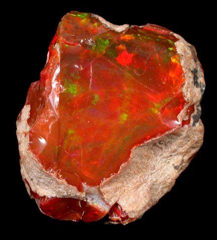 Precious Opal | Precious Fire Opal
