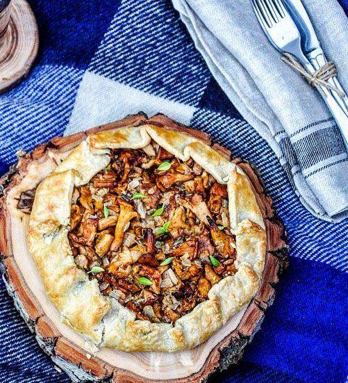 пирог с лисичками рецепт с фото