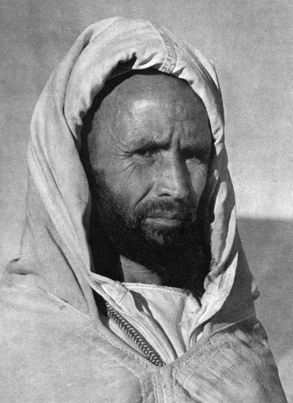 Assou Oubasslam (1890-1960) was a military leader, and a hero of Berber resistance against French colonialism. During 'The Battle of Bougafer' his warriors and their families (4000-5000 people in total) fought against the French army of 83,000 men who were armed to the teeth.  #Islam #Sufism #Spirituality #Mysticism #God #Religion #Arab