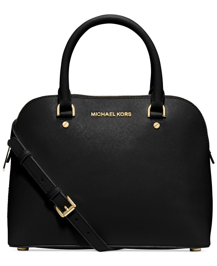 MICHAEL Michael Kors Cindy Medium Dome Satchel - Handbags & Accessories - Macy's