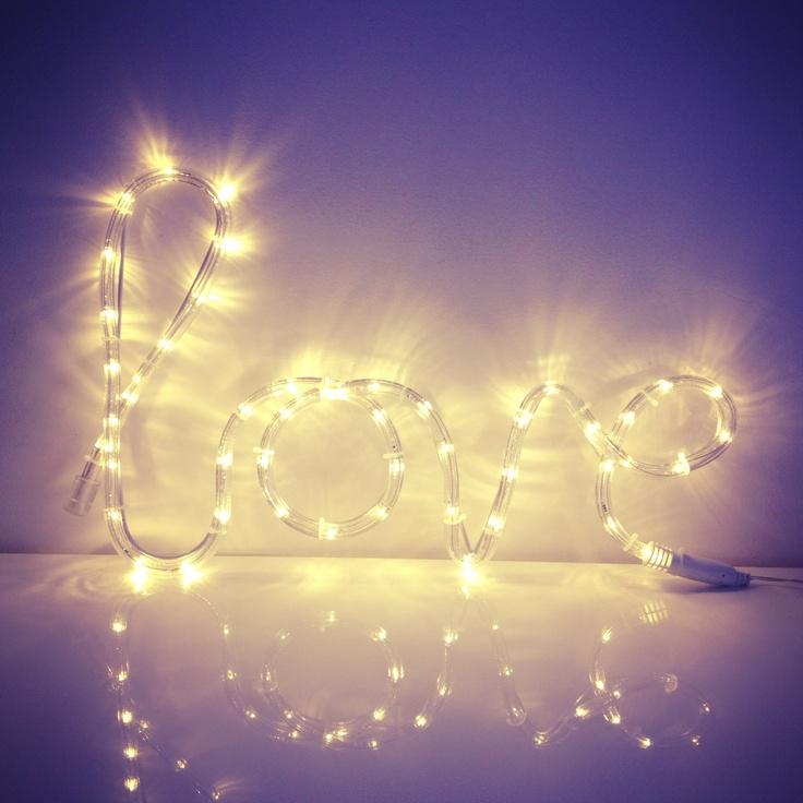Love rope light