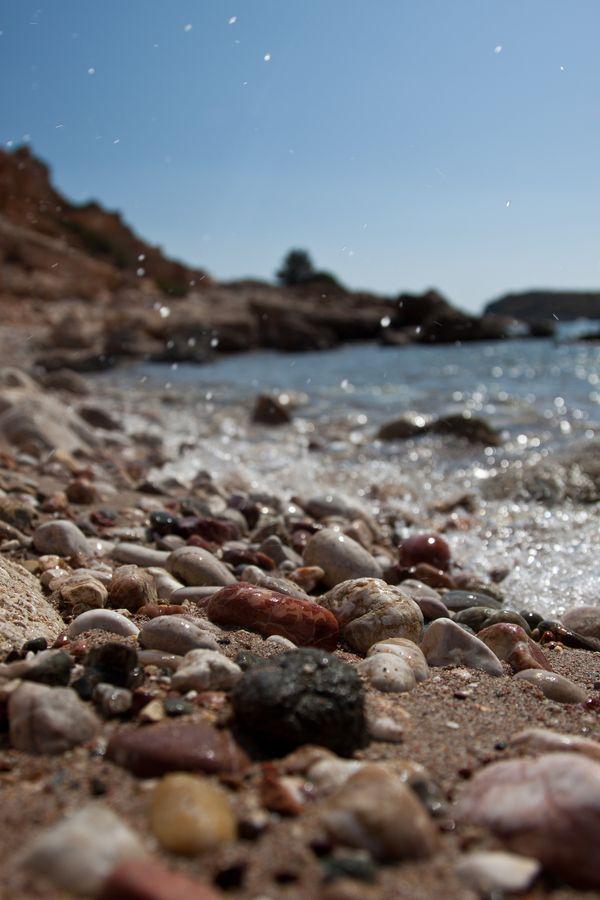 Beach stones ~Karpathos