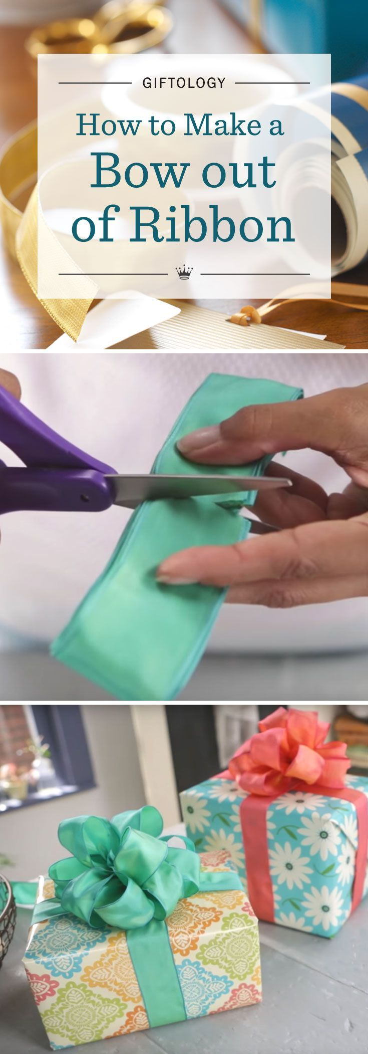 Giftology: How To Make A Bow Out Of Ribbon  Learn The Art Of Gift