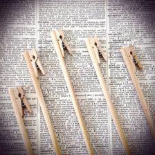 Números de mesa de Decoración: Etsy Bodas