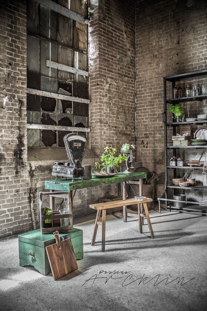 3071 best images about industrial decor on pinterest for Warm industrial decor