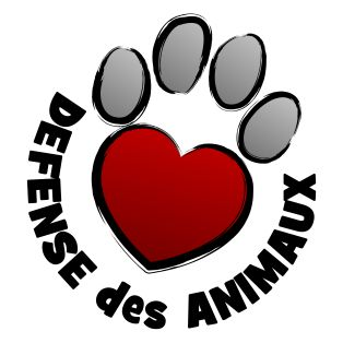 Logo LVDA - Google+ @LVDA1090 www.defense-animaux.ch