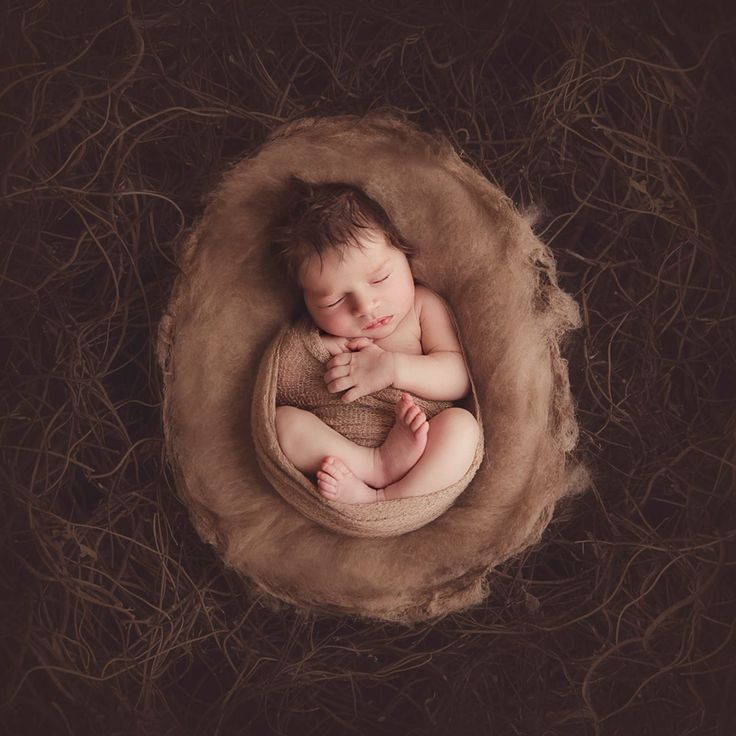 Wrapped Baby in nest newborn by Kelly Brown. Watch behind the scenes of Kelly Brown in her newborn photography studio.   Kelly will wrap a b...