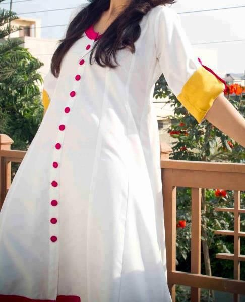 Lastest Stylish Ladies Kurta A New Trend Of 2016  TrendsinPK