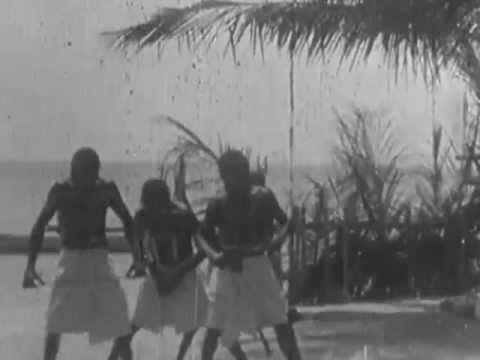 1898 Aboriginal Shake A Leg Dance performed on Mer Island