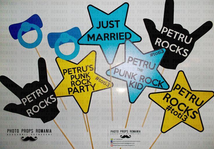 Punk rock photo booth props  https://www.facebook.com/PhotoPropsBucuresti