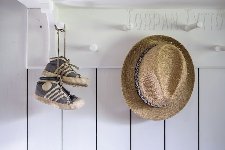 Vintage Nokia sneakers accompanying my dad's old panama hat.