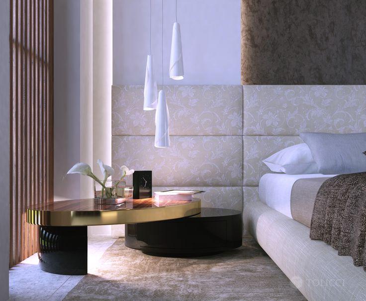 "Tolicci Bedroom ""Mollusc bedside table"""