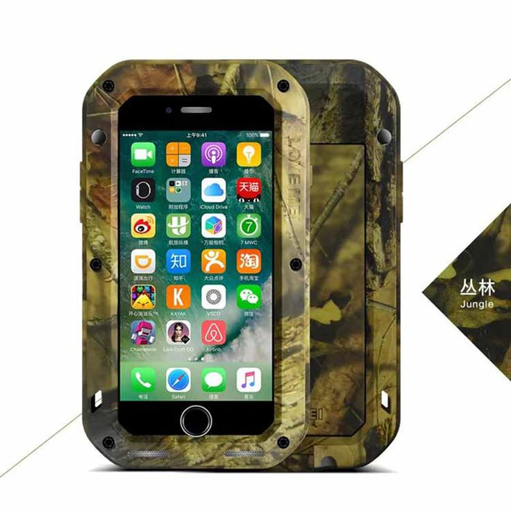 >> Click to Buy << For iphone7 plus Original LOVE MEI CAMO series Extreme Powerful life Dropproof Snowproof Metal Case for Apple iPhone 7p + box #Affiliate