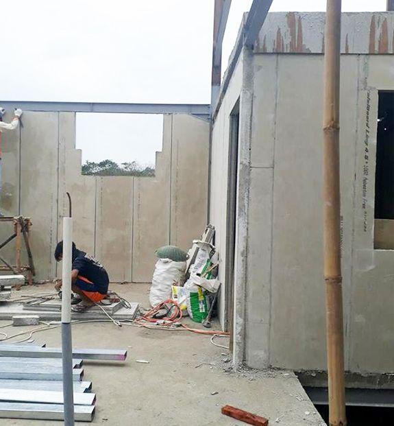 Precast Concrete Panels Expanding Foam Concrete Wall Precast Concrete Panels Precast Concrete