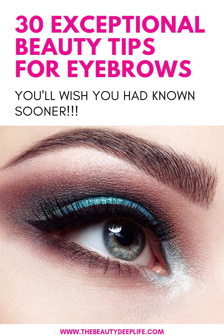 Ultimate list of tips for perfect eyebrows: shaping, plucking, trimming, & how t...