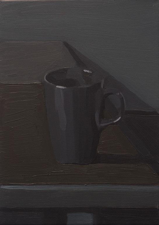 """Stuart McHarrie; Oil, 2012, Painting """"mug"""""""