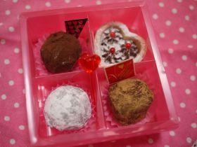 「【バレンタイン】3色トリュフ 」とまとママ | お菓子・パンのレシピや作り方【corecle*コレクル】