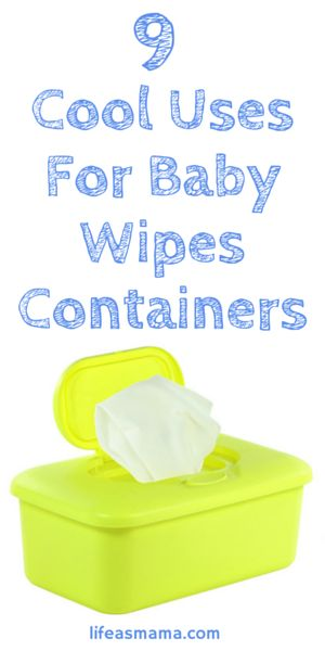 I love DIY projects, especially when it comes to repurposing old items that I would otherwise throw away. One thing that you can repurpose that us moms use often and probably throw away when we're done with them are baby wipe containers. Those little plastic containers are good for so many other things than just holding baby wipes. You won't believe how many clever ways you can use them that others have come up with!