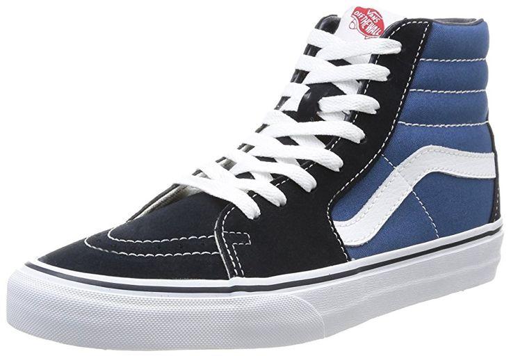 Vans Herren U SK8-HI High-Top Sneaker,Blau (Navy), 34.5 EU: Amazon.de: Schuhe & Handtaschen