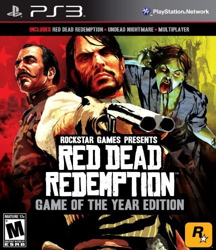 The Game of the Year Edition includes the full Red Dead Redemption game and all current free and paid DLC such as 'Undead Nightmare', 'Legends and Killers Pack', 'Liars and Cheats Pack', 'Hunting and Trading Outfits Pack', 'Outlaws To The End Co-Op Mission Pack' and the recently released 'Myths and Mavericks Bonus Pack'.It will also feature the Deadly Assassin Outfit, War Horse and Golden Guns Weapon Pack pre-order DLC and the 'Solomon's Folly' single-player gang hangout and challenges.