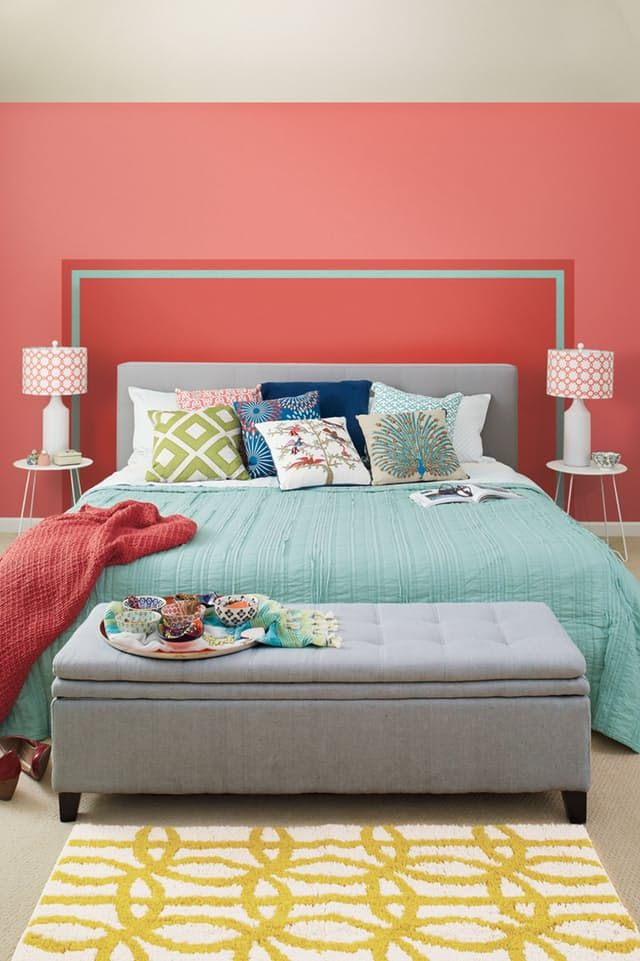 Simple Solutions: Painted Headboard — Dutch Boy paints | Apartment Therapy