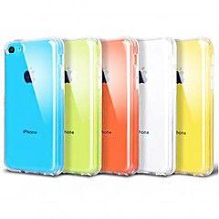 Ultradunne Transparant Siliconen Terug hoesje voor iPhone 5C – EUR € 0.99