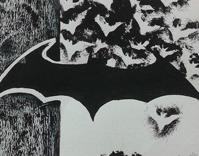 "Check out new work on my @Behance portfolio: ""Batman Print/Paintings"" http://on.be.net/1imDnTP"