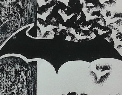 "Check out new work on my @Behance portfolio: ""Batman Print/Paintings"" http://on.be.net/1imDnTP"