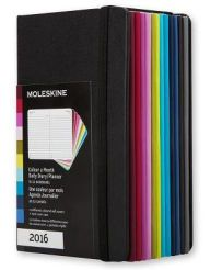 2016 Moleskine 12M Planner Colour A Month Daily