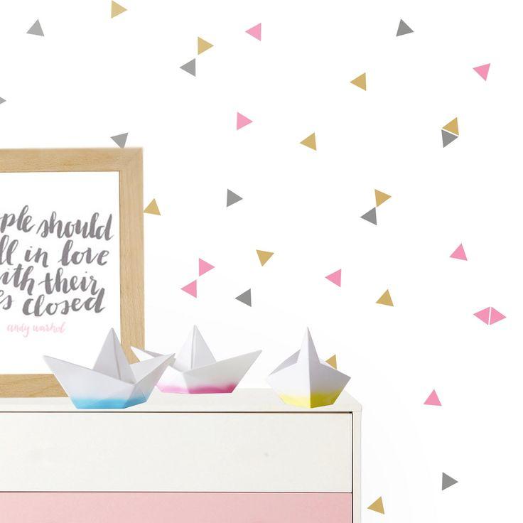 Vinilo infantil triángulos de colores. Ideas decoración en vinilo habitación infantil niños, niñas y bebes https://dolcevinilo.es/vinilo-triangulos-3-colores Desde 18€ $19 #habitacion #habitaciones #infantil #infantiles #bebe #ideas #decoracion #pared #vinilo #vinilos #decorativos #vinilosdecorativos #habitacioninfantil #habitacionesinfantiles #habitacionbebe #habitacionesbebe #vinilosdecorativos #vinilosinfantiles #decoracioninfantil #decoracionbebe #niño #niña#triangulos #vinilotriangulos