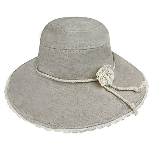 79c5bb953ab Clobeau Bucket Hats for Women Lady Sun Hat Summer Party Boho Hat Beach Wide Brim  Cap