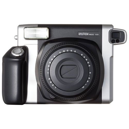 Instantly boost the fun at family gatherings, parties, or company events with the Fujifilm instax WIDE 300 instant camera kit. The large film delivers vivid prints in an instant, and is a great format for capturing everyone's faci... Free shipping on orders over $35.