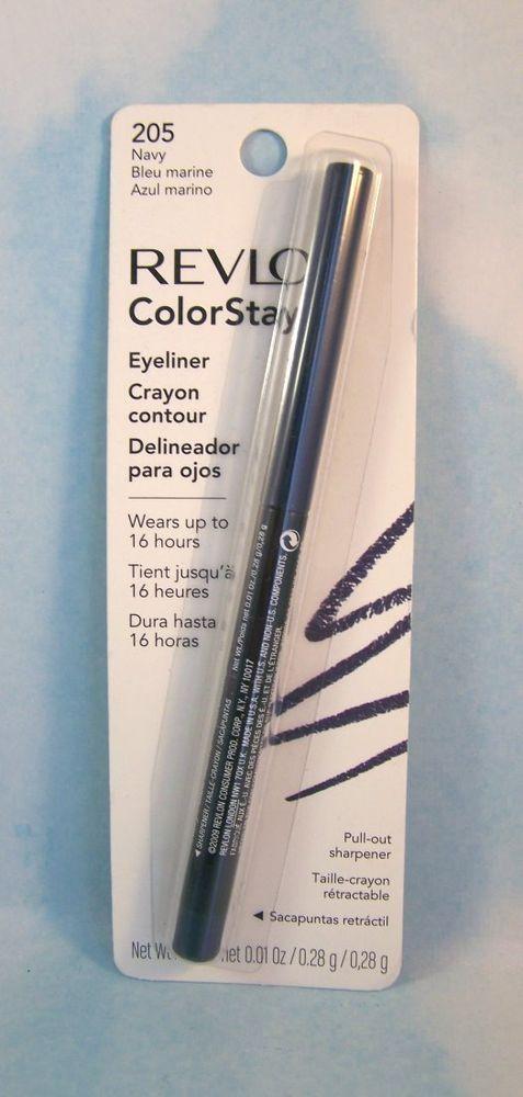 Revlon Eyeliner Colorstay 16 Hour Eyeliner - Navy 205 NIP #Revlon #EyeMakeup