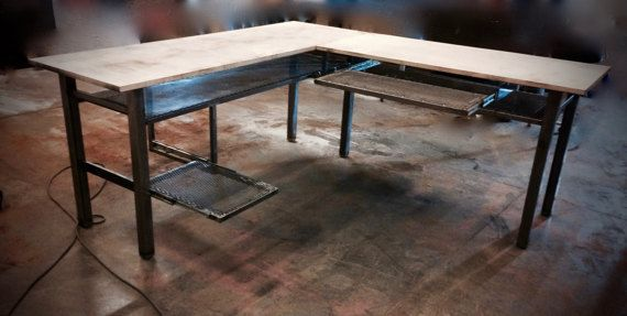 1000 Ideas About L Desk On Pinterest Reclaimed Wood