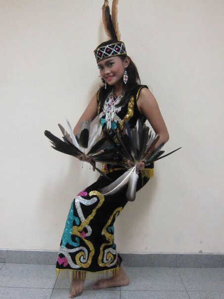 Enggang Dance - East Borneo Province #Traditional #Dance #Indonesia