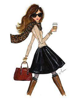 fashion sketches girls - Google Search