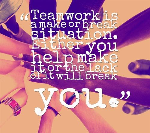 Positive Teamwork Quotes: 17 Best Quotes For Teamwork On Pinterest