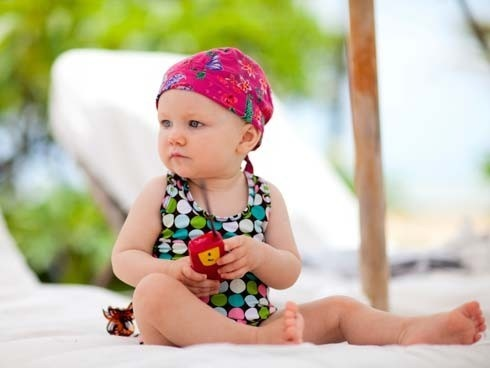 Linda! En la Playa
