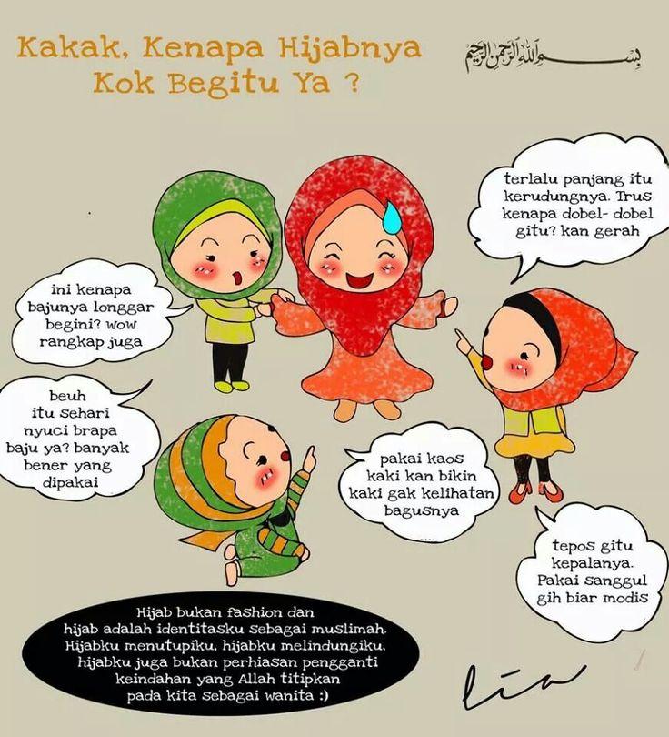 Hijab itu pelindung wanita