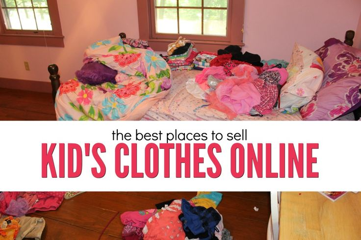If you're looking to clear out some clutter and earn cash doing it here are the best places to sell kids clothes online. (And an easy decluttering process.)