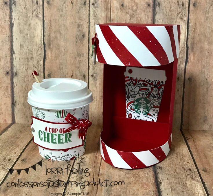 Christmas Keurig Gift Card and Treat Holder Tutorial Starbucks Lorri Heiling
