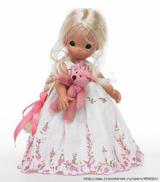 Куклы Precious Moments dolls (Драгоценные моменты). Sam Butcher (Сэм Батчер) / Precious Moments dolls, Драгоценные моменты / Бэйбики. Куклы фото. Одежда для кукол