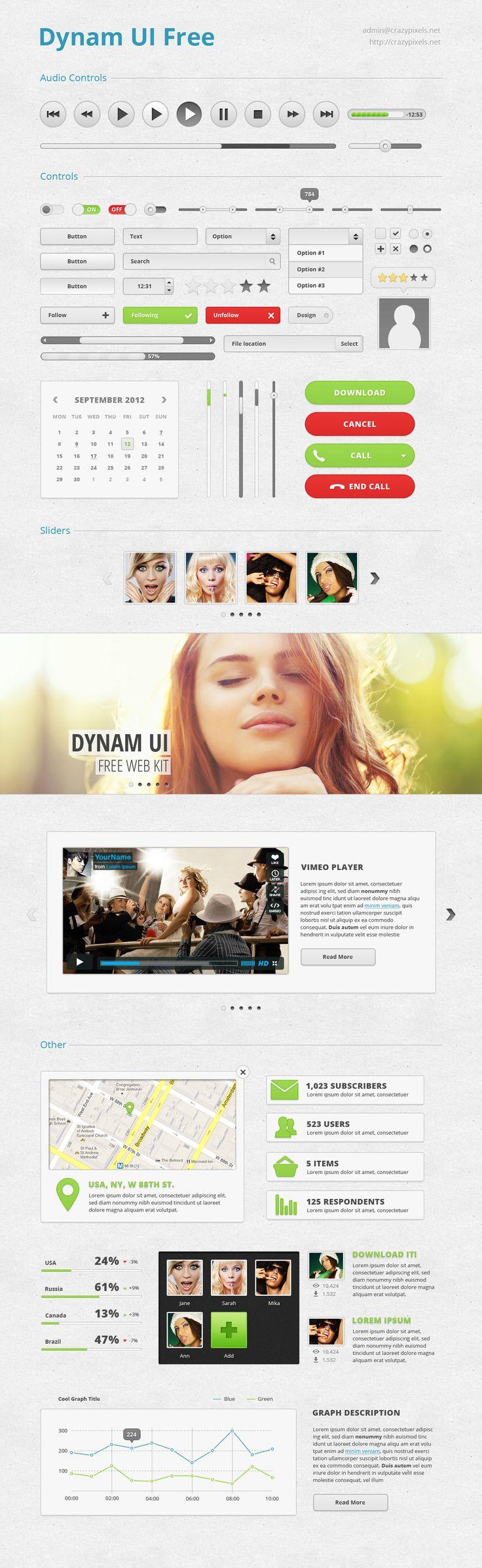 Dynam UI: Free Incredibly User Interface Kit